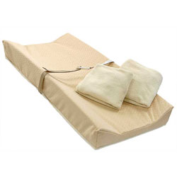 Contoured Pad with Organic Cotton Layer