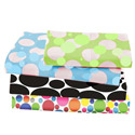 Multi Size Dots and Bubbles Crib Sheet